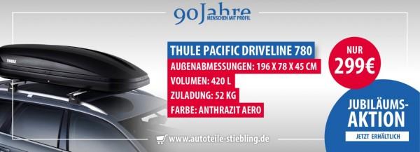 Dachbox Driveline 780 Black 631814 AKTION